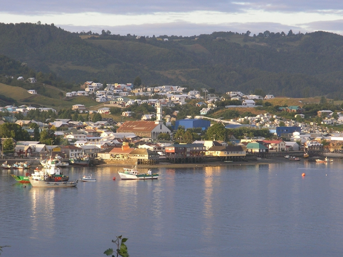 how to get to chiloe island