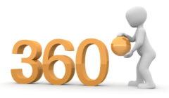 icon 360 degress
