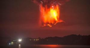 Eruption of the Calbuco Volcano